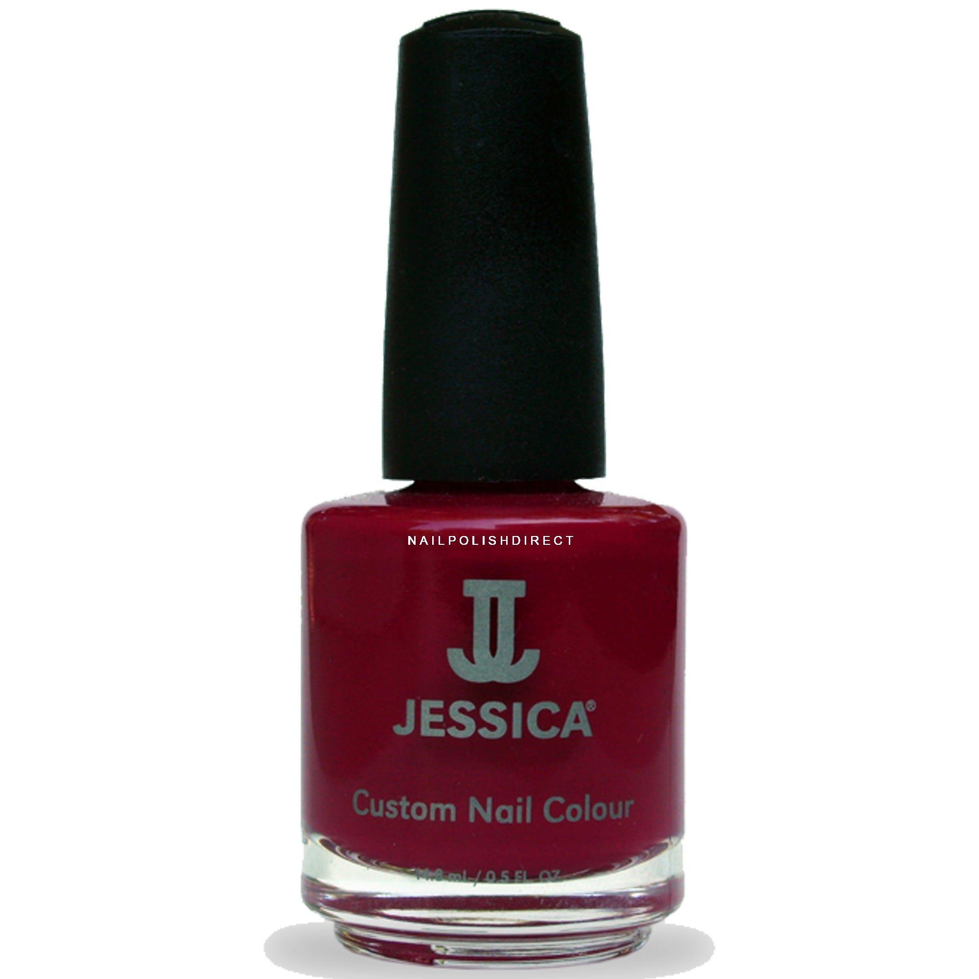 Jessica Orange Nail Polish: Jessica Winter Berries Nail Polish Is Available At Nail