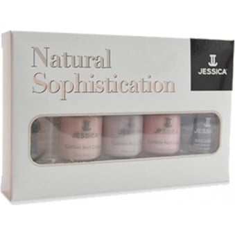 Natural Sophistication Nail Polish Collection (x5 7.4ml)