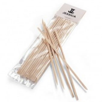 Orangewood Cuticle Sticks - 12 Pack