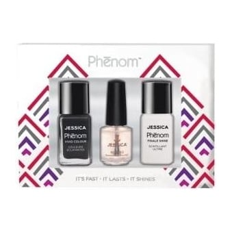 Vivid Colour Gift Sets - Caviar Dreams & Finale Shine 15ml - Free Reward Basecoat 7.4ml