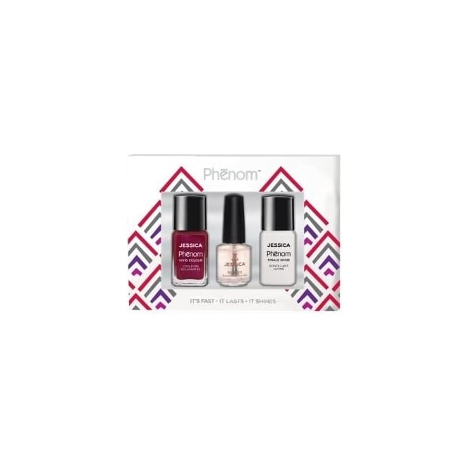Jessica Phenom Vivid Colour Gift Sets - The Royals & Finale Shine 15ml - Free Reward Basecoat 7.4ml