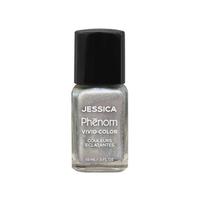 Jessica Phenom Vivid Colour Precious Weekly Nail Polish - Antique Silver 15ml