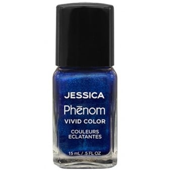 Vivid Colour Precious Weekly Nail Polish - Blue Sapphire 15ml