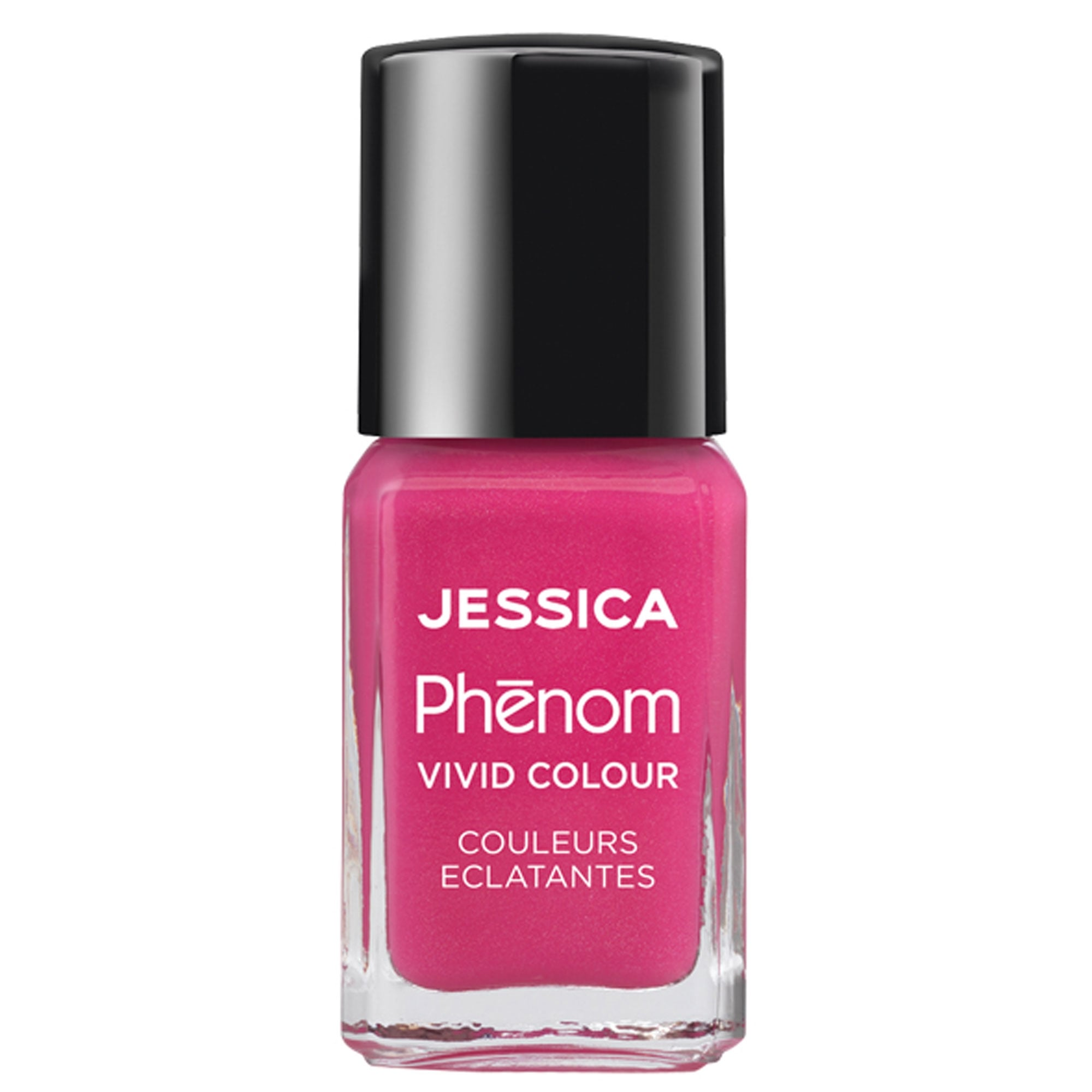 Jessica Phenom Vivid Colour Barbie Pink online at Nail Polish Direct