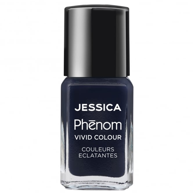 Jessica Phenom Vivid Colour Weekly Nail Polish - Blue Blooded 15mL