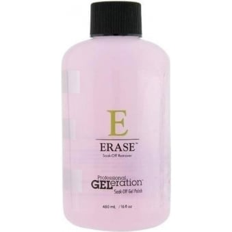 Professional GELeration Soak Off Gel Polish - Erase Soak-Off Remover