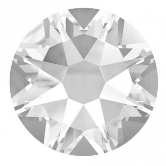 Swarovski Crystals Gems Pack Of 200 - Clear (SS7)
