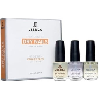 Treatment Kit Hydrate & Condition - Dry nails (3 x 7.4ml)