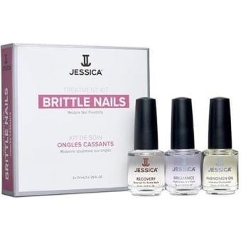 Treatment Kit Restores Nail Flexibility - Brittle Nails (3 x 7.4ml)