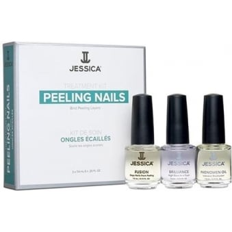 Treatment Kit Revitalise And Rebuild - Damaged Nails (3 x 7.4ml)