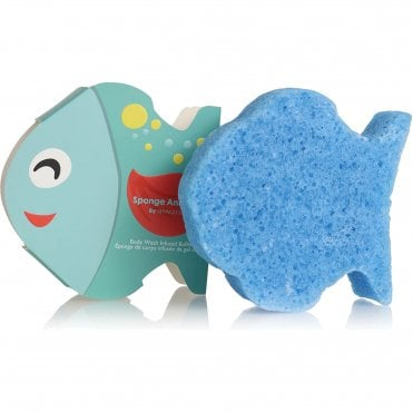 Kids Body Wash Infused Buffer - Fish Fruitilicious 70g