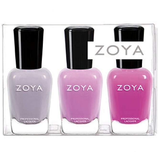 Zoya Kisses, Pastel Jellies 2018 Nail Polish Collection - Complete 3 Piece Set (ZPSAMPLER1801)