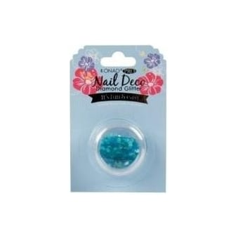 Nail Deco - Diamond Glitter Blue