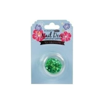 Nail Deco - Diamond Glitter Green