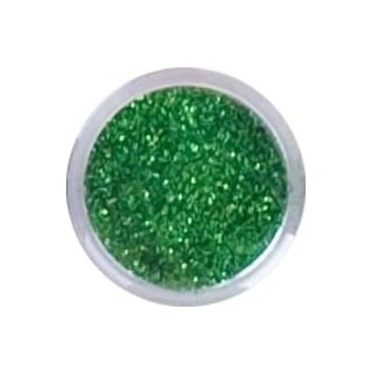 Glitter Dust Nail Art Pots - Green 5g