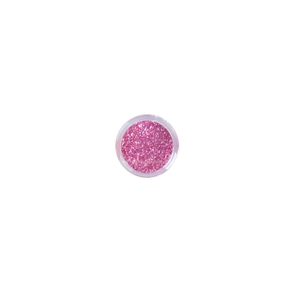 Kooky Glitter Dust Nail Art Pots Powder Rose