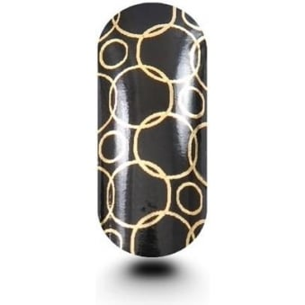 Pack Of Bubble Black & Gold