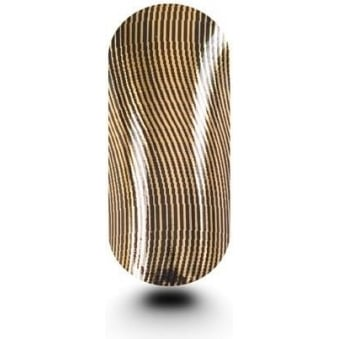 Pack Of Wavy Thin Lines Black & Gold