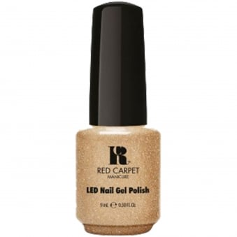 LED Nail Polish 2015 Collection Gel Vintage Glamour - Good as Gold 9mL