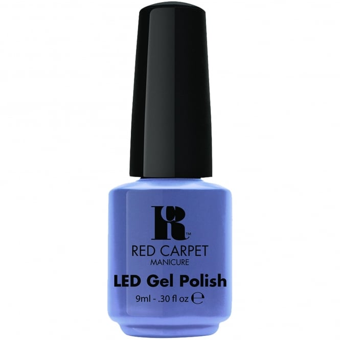 Red Carpet Manicure Gel LED Nail Polish - Love Those Baby Blues 9ml