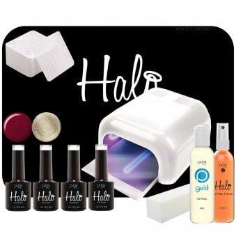 Halo Gel Nails LED/UV Gel Polish Collection - Starter Kit 2 (5053)