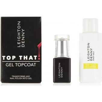 Nail Treatments Transform Nail To Gel Topcoat & Cleanser - Top That (8ml & 50ml)