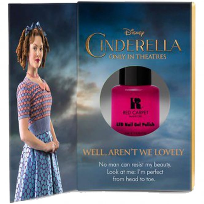 Red Carpet Manicure Gel Limited Edition LED Nail Polish - Disney Cinderella Collection - Well Arent We Lovely 9ml
