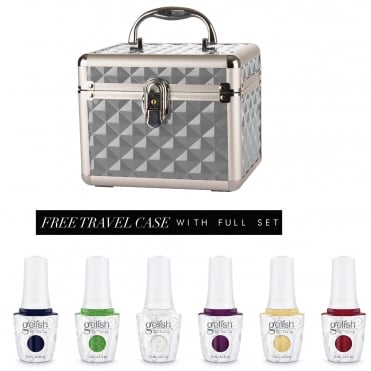 Little Miss Nutcracker 2017 Gel Polish Collection - Complete Collection With FREE Silver Travel Case