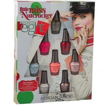 Little Miss Nutcracker 2017 Nail Polish Collection - Favorite Eight Set