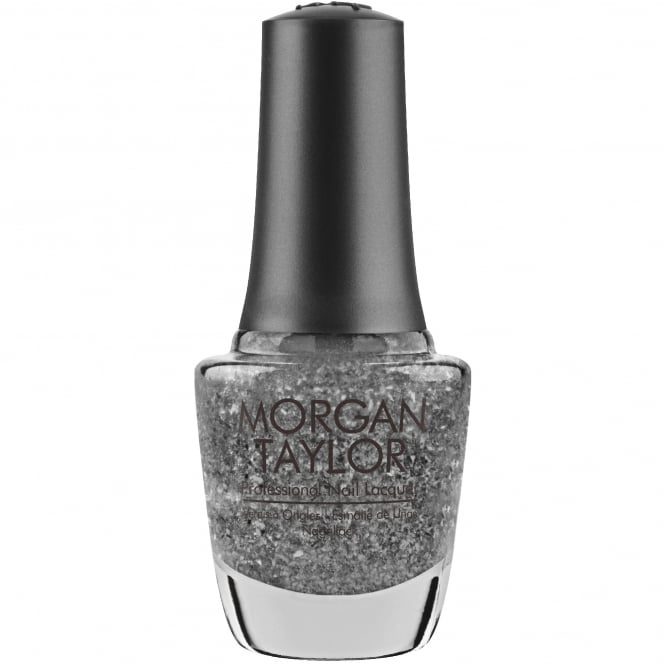 Morgan Taylor Little Miss Nutcracker 2017 Nail Polish Collection - Silver In My Stocking 15ml (02491)