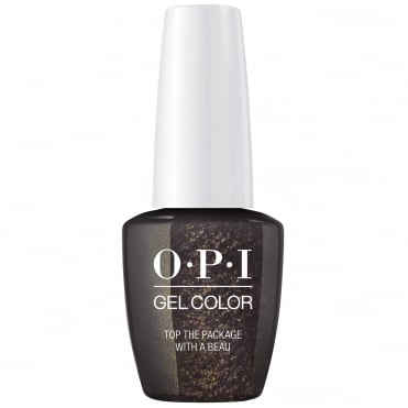 Love OPI XOXO 2017 Soak Off Gel Polish Collection - Top The Package With A Beau 15ml (HP J11)