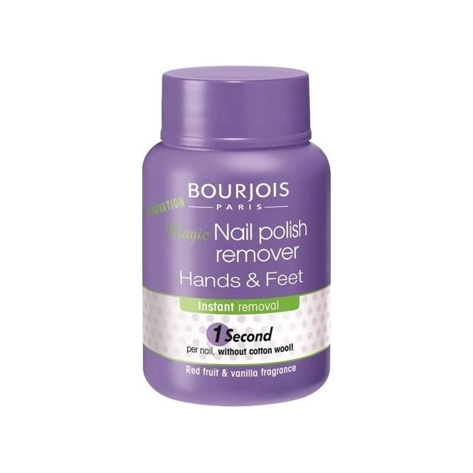 Bourjois Magic 1 Second Nail Polish Remover For Hands & Feet 75ml
