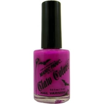 Claw Colours Neon Nail Polish - Fuschia Shock