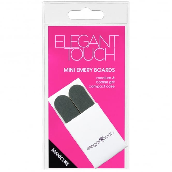Elegant Touch Manicure Mini Emery Boards (Pack Of 10)