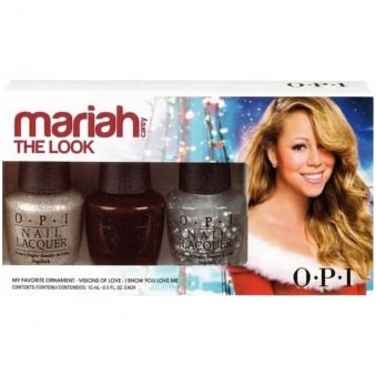 Mariah Carey Autumn Fall 2013 Nail Polish Collection - The Look Lacquers 3x 15ml