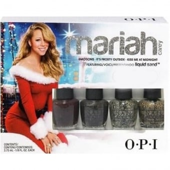 Mariah Carey Limited Edition Autumn Fall Nail Polish Collection - Mini Lacquer Set (4x 3.75ml)