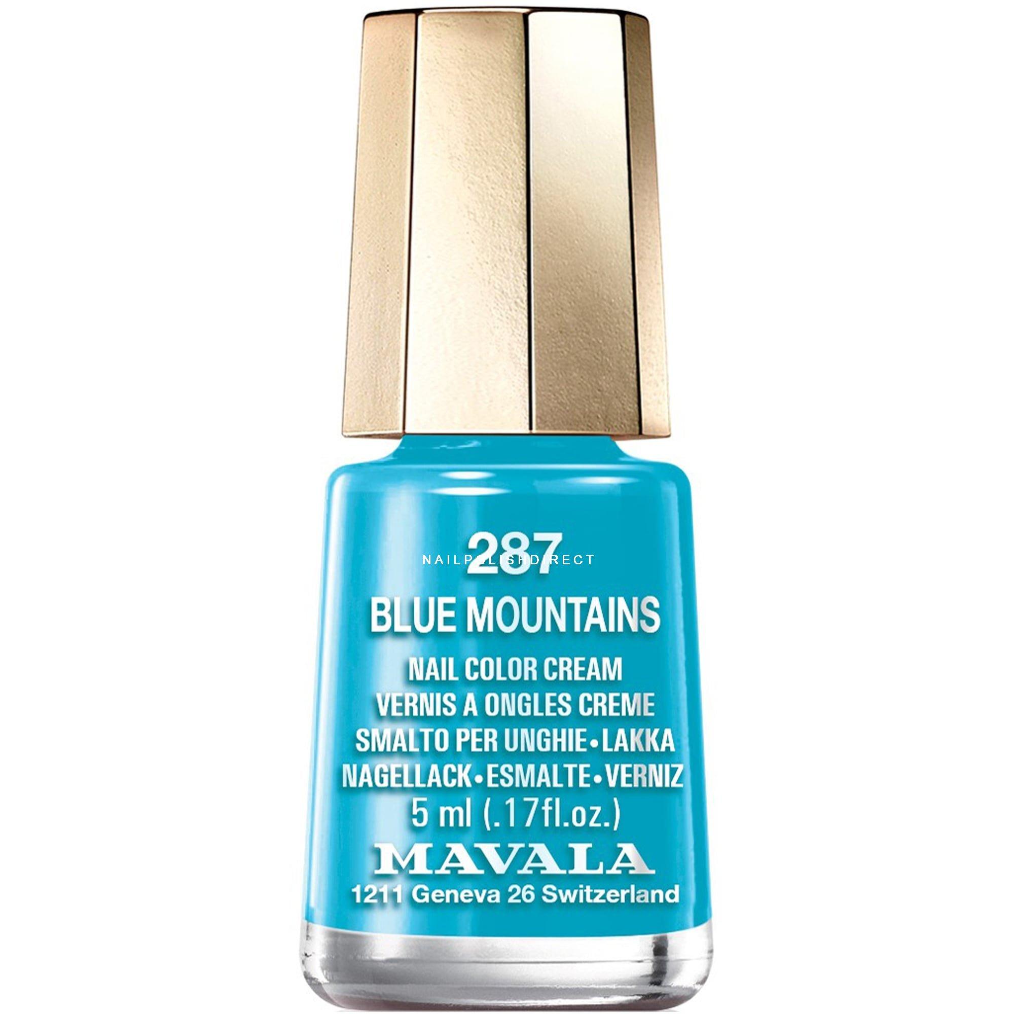 Mavala Colour Inspiration 2017 Nail Polish Blue Mountain