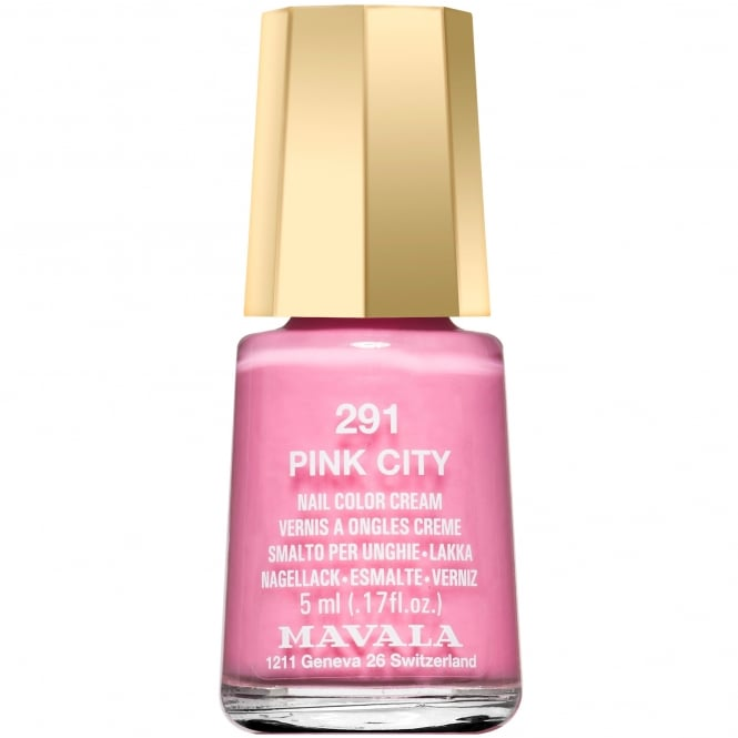 Mavala Colour Inspiration 2017 Nail Polish Collection - Pink City 5ml (291)