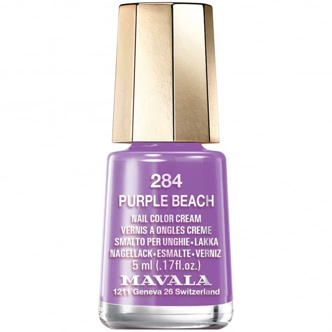 Mavala Colour Inspiration 2017 Nail Polish Collection - Purple Beach 5ml (284)