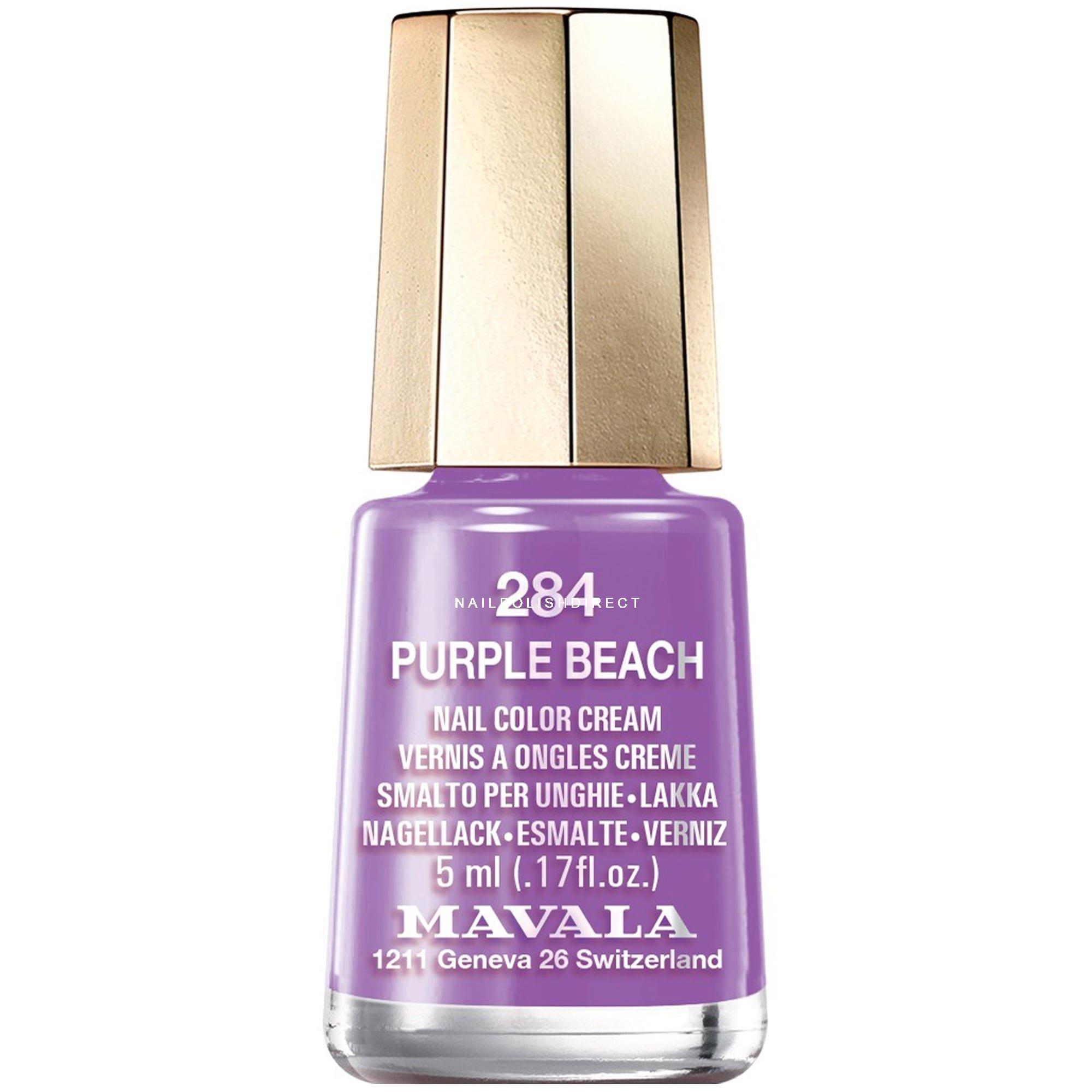 Mavala Colour Inspiration 2017 Nail Polish Purple Beach