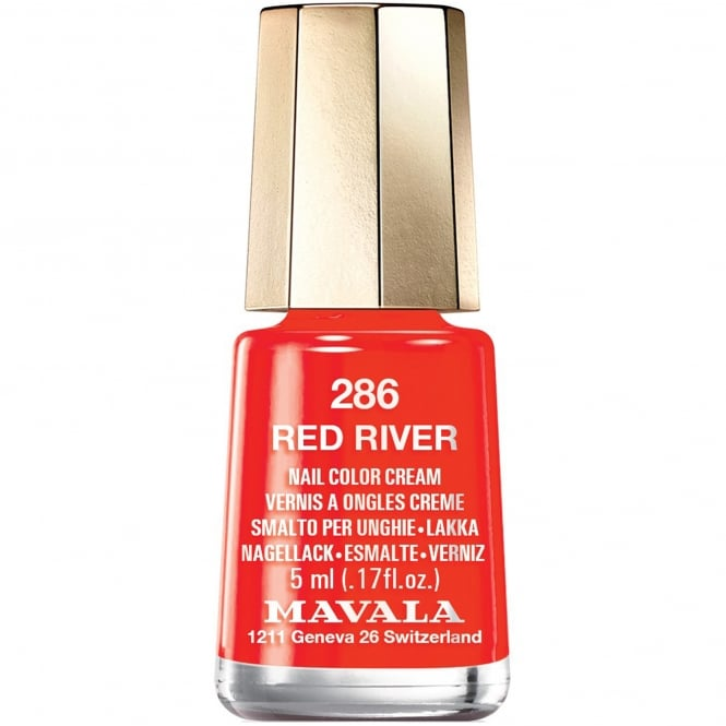Mavala Colour Inspiration 2017 Nail Polish Collection - Red River 5ml (286)