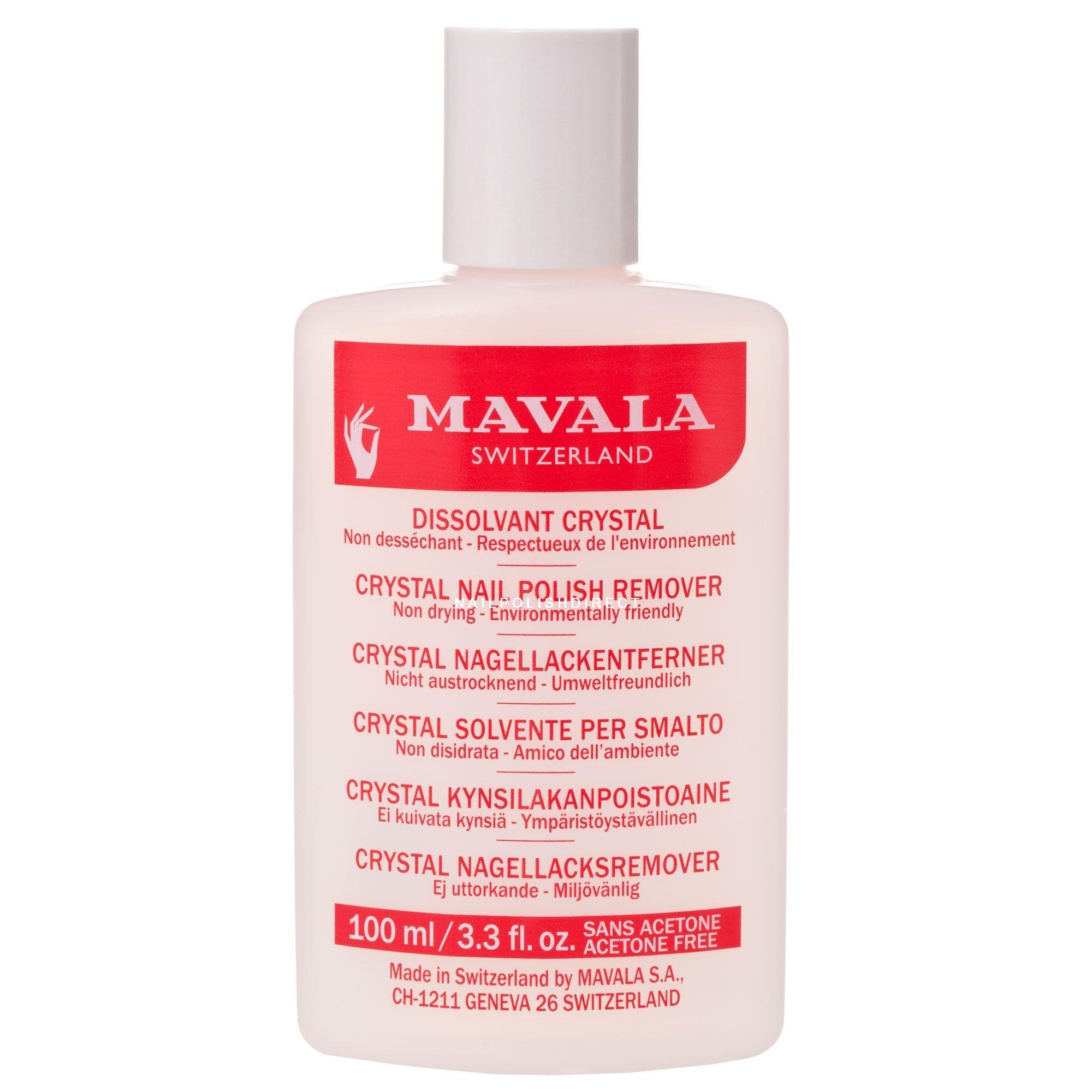 Mavala Crystal Nail Polish Remover (100ml)
