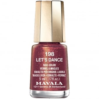 Disco Christmas Colours Nail Polish Collection 2016 - Let's Dance 5ml (198)