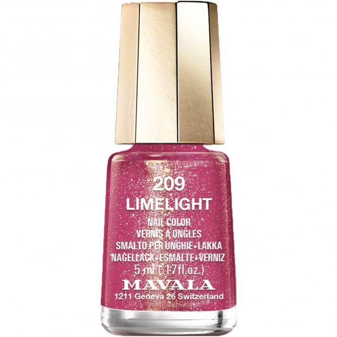 Mavala Disco Christmas Colours Nail Polish Collection 2016 - Limelight 5ml (209)