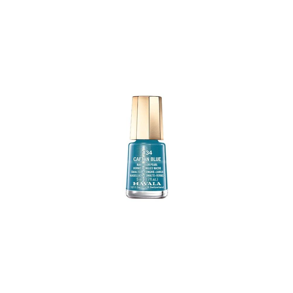 Mavala Mini Autumn Fantasy Color Creme Nail Polish Caftan Blue (134)