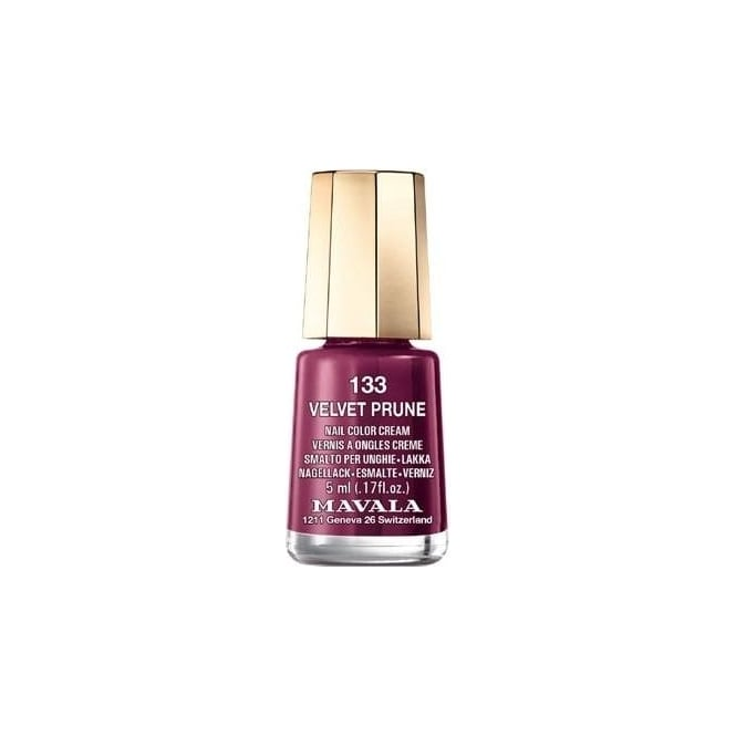 Mavala Mini Autumn Fantasy Color Creme Nail Polish Collection - Velvet Prune (133) 5ml