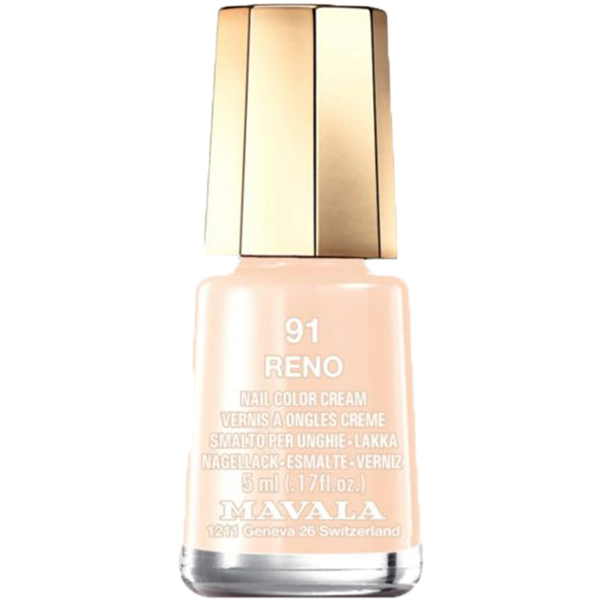 Mini Color Creme Effect Nail Polish - Reno (91) 5ml