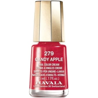 Mini Color Creme Gel Effect Nail Polish - Candy Apple (279) 5ml