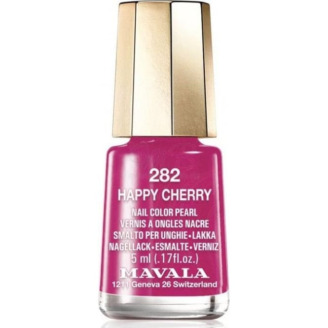 Mavala Mini Color Creme Gel Effect Nail Polish - Happy Cherry (282) 5ml