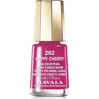 Mini Color Creme Gel Effect Nail Polish - Happy Cherry (282) 5ml